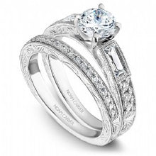 Shared Prong Engagement Ring B058-01WM