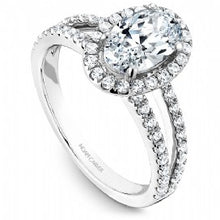 Shared Prong Engagement Ring B092-02WM
