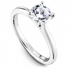 Solitaire Engagement Ring R045-01WM