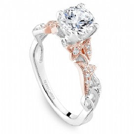 Shared Prong Engagement Ring B338-01WRM