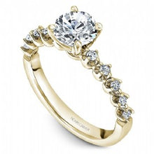 Shared Prong Engagement Ring B192-01YM