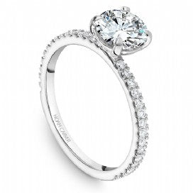 Shared Prong Engagement Ring B265-01WM