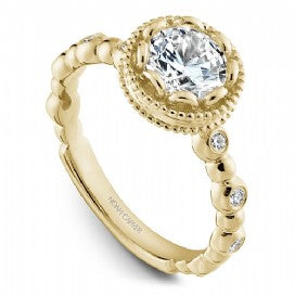 Channel Set Engagement Ring R004-01YM