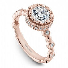 Channel Set Engagement Ring R014-01RM