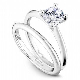 Solitaire Engagement Ring R047-01WM