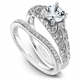 Shared Prong Engagement Ring B056-01WM