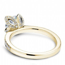 Shared Prong Engagement Ring B019-01YM