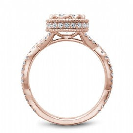 Shared Prong Engagement Ring R015-01RM