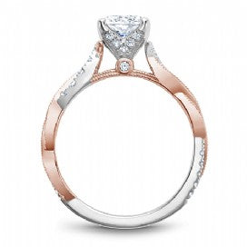 Shared Prong Engagement Ring B330-01WRM