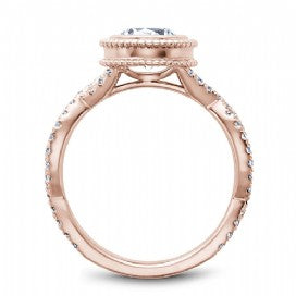 Shared Prong Engagement Ring R010-01RM