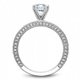 Shared Prong Engagement Ring R048-01WM