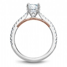 Shared Prong Engagement Ring B293-01WRM