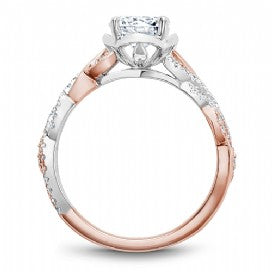 Shared Prong Engagement Ring B335-01WRM