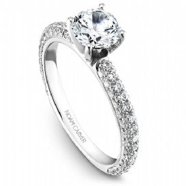 Shared Prong Engagement Ring B054-01WM