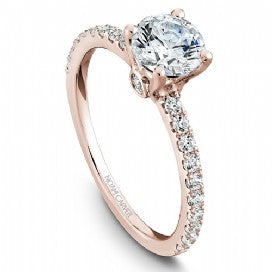 Shared Prong Engagement Ring B022-01RM