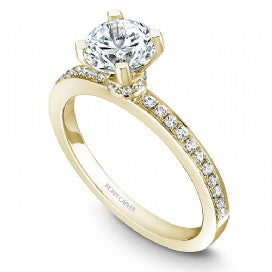 Shared Prong Engagement Ring B012-01YM
