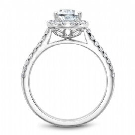 Shared Prong Engagement Ring B169-01WM