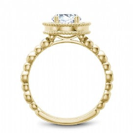 Shared Prong Engagement Ring R024-01YM