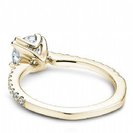 Shared Prong Engagement Ring B001-01YM