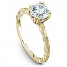 Solitaire Engagement Ring B004-02YME