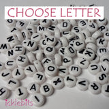icklebits:Letter Beads - Choose Your Letter - Bulk Buy