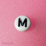 icklebits:Letter Beads - Choose Your Letter - Bulk Buy,M