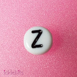 icklebits:Letter Beads - Choose Your Letter - Bulk Buy,Z