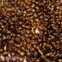 icklebits:50g Golden Brown Seed Beads. Size 2mm (12/0)