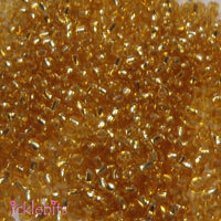 icklebits:50g Gold Coloured Seed Beads. Size 2mm (12/0)
