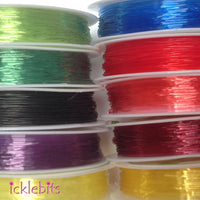 icklebits:Elastic Nylon 0.8mm (20m per roll)