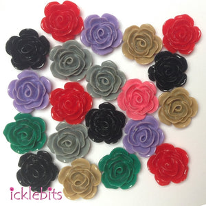 icklebits:BULK BUY Mixed Rose Beads