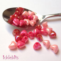 icklebits:Heart Beads