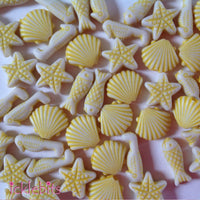 Mini Seaside Beads in Yellow