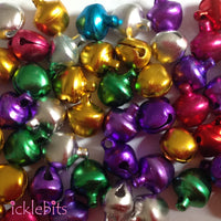 Bulk Mini Metallic Bells (Bag of 55)