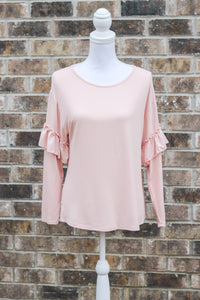 Madison Tee - Blush - 27 West