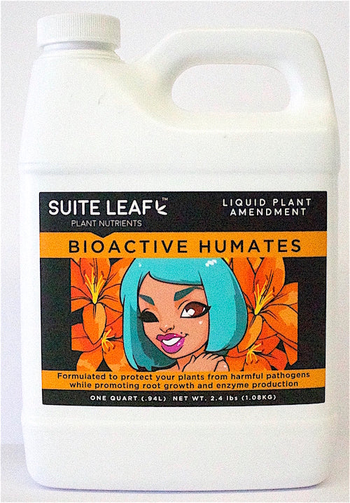 Premium, organic, humates with microbes by Suite Leaf Plant Nutrients