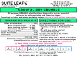 GROW XL Organic Dry Crumble All Purpose Fertilizer