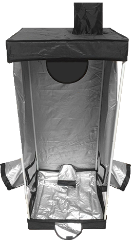 Urban gardening tent for hydroponic home grow