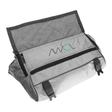 AWOL Daily Messenger Bag, Smell Proof (Gray)