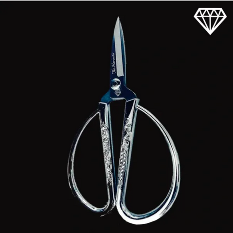 Premium Trimming Scissors (Platinum)