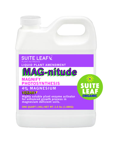 MAG-nitude 4% Mg Organic Plant Amendment