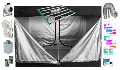 """The Baller"" Complete Indoor Hydroponic Home Grow Tent Kit (5' X 10')"