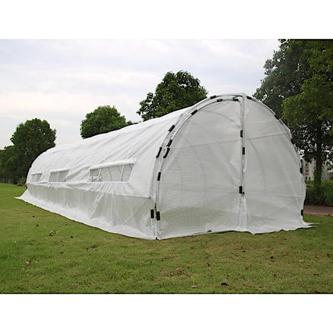 Heavy Duty Greenhouse Hoop House (32' x 10' x 6.5')