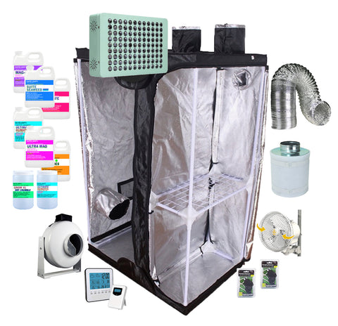 "The ""G Box"" Split Room Indoor Hydroponic Grow Tent Kit (3' X 2')"