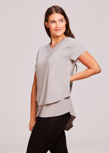 """Lauren"" Nursing V-Neck T-shirt"