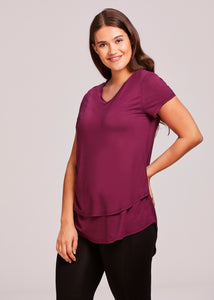 """Lauren"" Nursing V-Neck T-shirt (4329)"