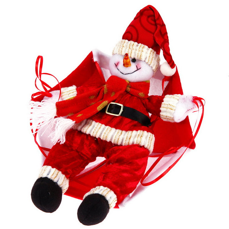 GREAT LOOKING Christmas Home Ceiling Parachute Santa Claus Snowman