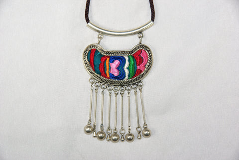 Pendant - Bean-shaped with dangle