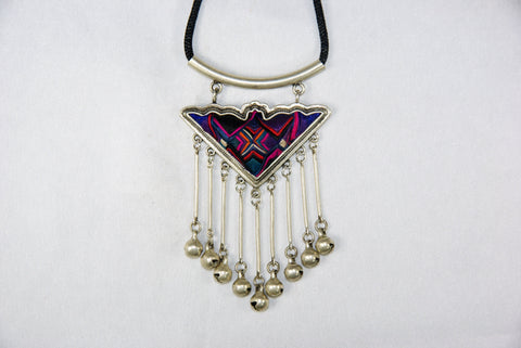 Pendant - Triangular with dangling bells