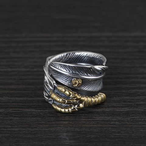 extra large silver ring